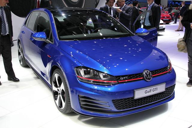 Volkswagen golf gti parigi 2