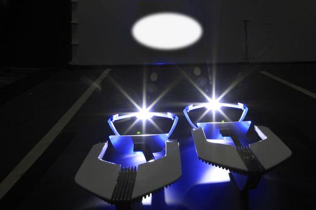 Luci laser 11