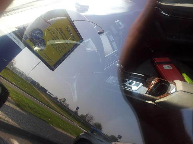 Maserati quattroporte interni spy 3