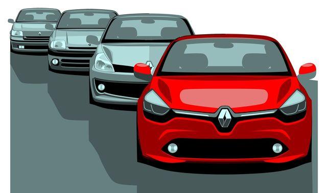Renault clio design bozzetti 13