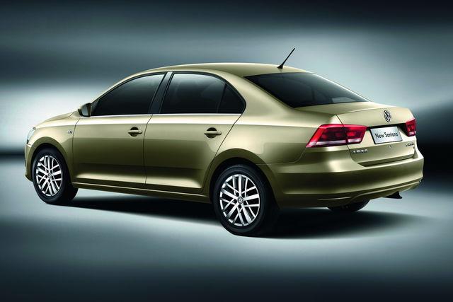 Volkswagen santana cina 1