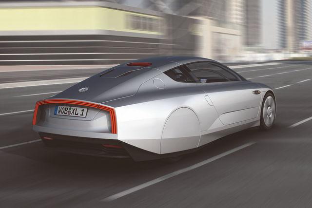 Test Sulla Neve Per La Volkswagen Xl1