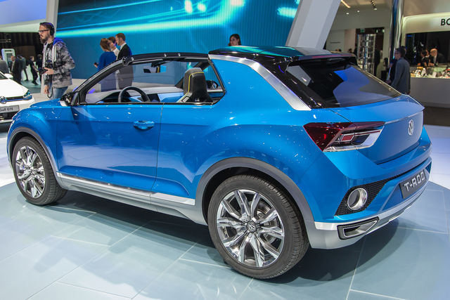 Volkswagen t roc se piace si far for 1 5 dimensioni del garage