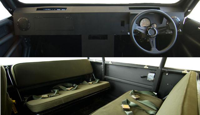La fuoristrada made in africa for Semplici 2 piani di garage per auto