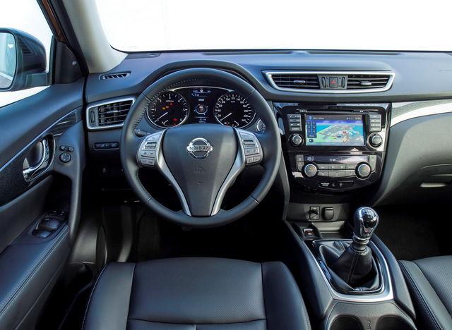 Nissan x trail prova scheda tecnica opinioni e for Interno qashqai