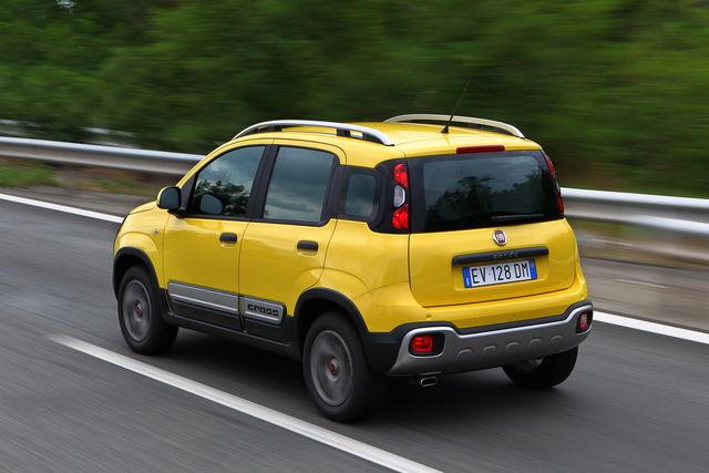 Fiat panda 4x4 prova scheda tecnica opinioni e for Immagini panda 4x4