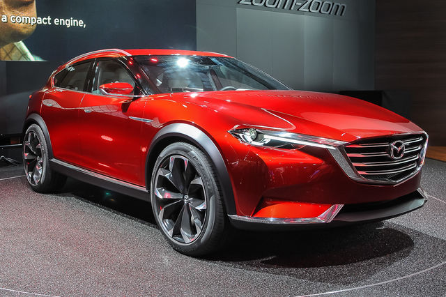 Fotografata senza veli la Mazda CX-6 (o CX-7)