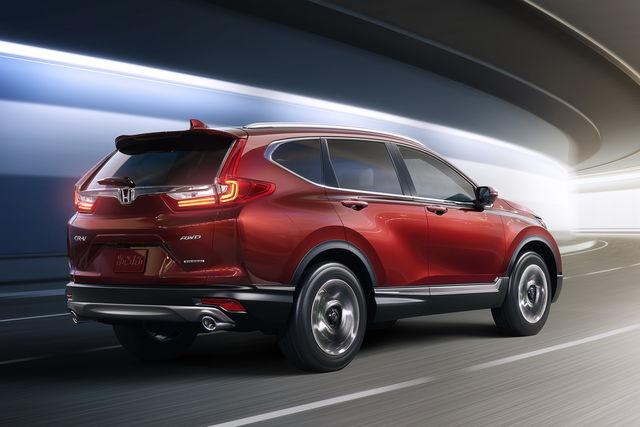 Honda Cr V Nel 2017 Sarà Tutta Nuova