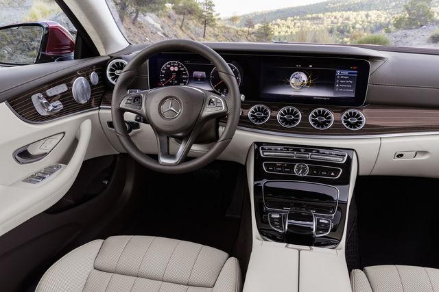 Mercedes E Coupé