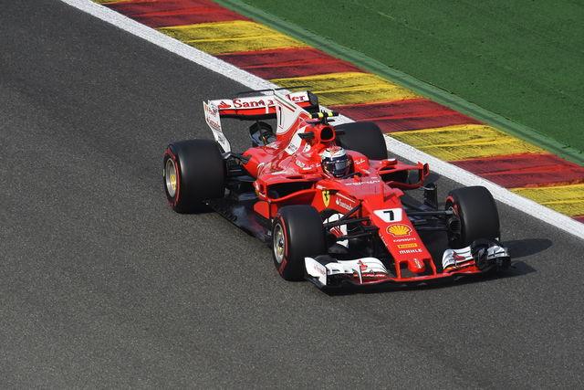 GP Belgio: Raikkonen e Vettel chiudono davanti a tutti nella FP3