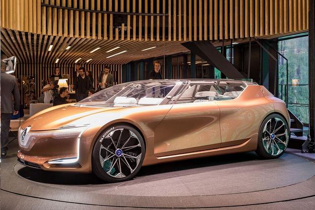 Renault come saranno le auto del 2030 for Come ridurre il rumore nella cabina dell auto
