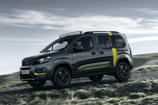 Partner Peugeot 2018 >> Peugeot Rifter: la famiglia è completa