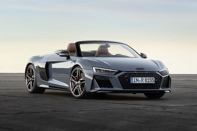 Audi R8 renewed