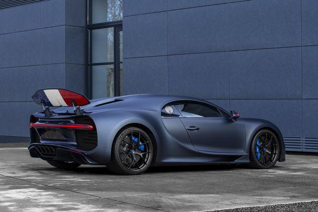 Una Bugatti Chiron Per I 110 Anni
