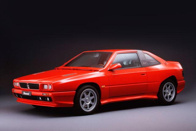 Vecchie auto con componenti moderne - Pagina 3 Maserati-shamal-1990_1