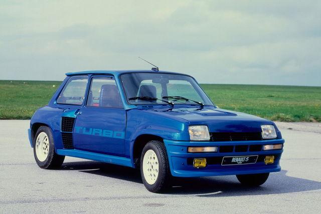 Vecchie auto con componenti moderne - Pagina 3 Renault-5-turbo-1979