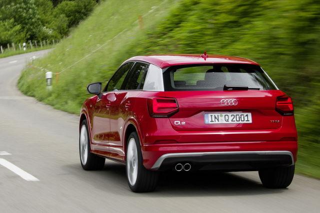 Audi q2 prova scheda tecnica opinioni e dimensioni 1 0 for Interno q2