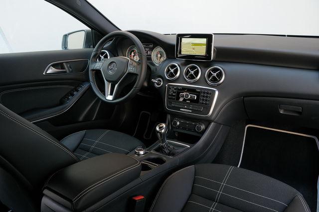 Mercedes a for Mercedes g interno