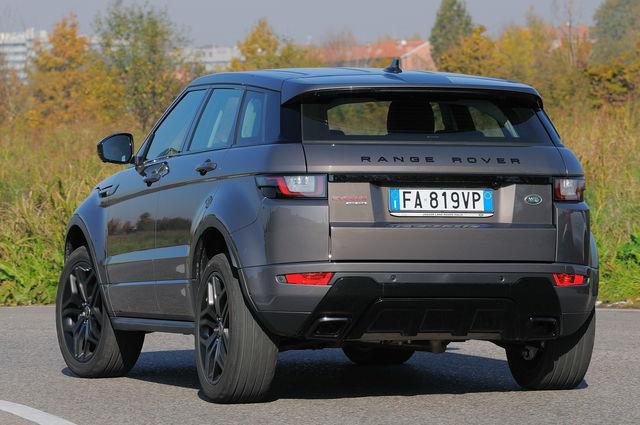 Prova Land Rover Range Rover Evoque Scheda Tecnica