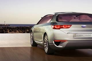 Subaru hybrid tourer concept 13