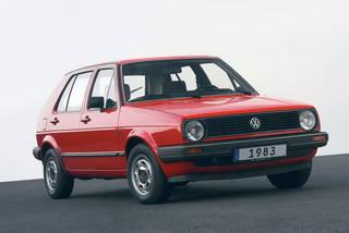 Volkswagen golf 1983 serie 2