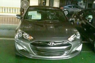 Hyundai genesis 2012 spy