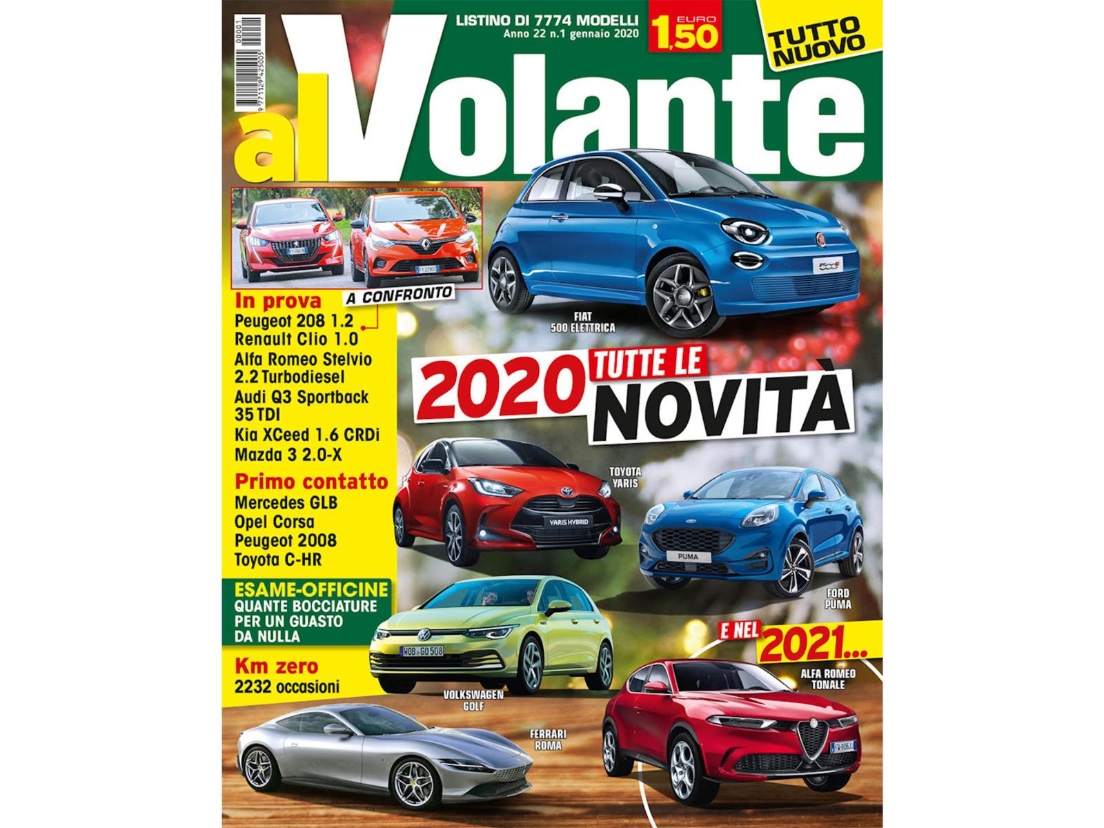 2020 - [Fiat] 500 e - Page 10 Copertina-alvolante-2020-01