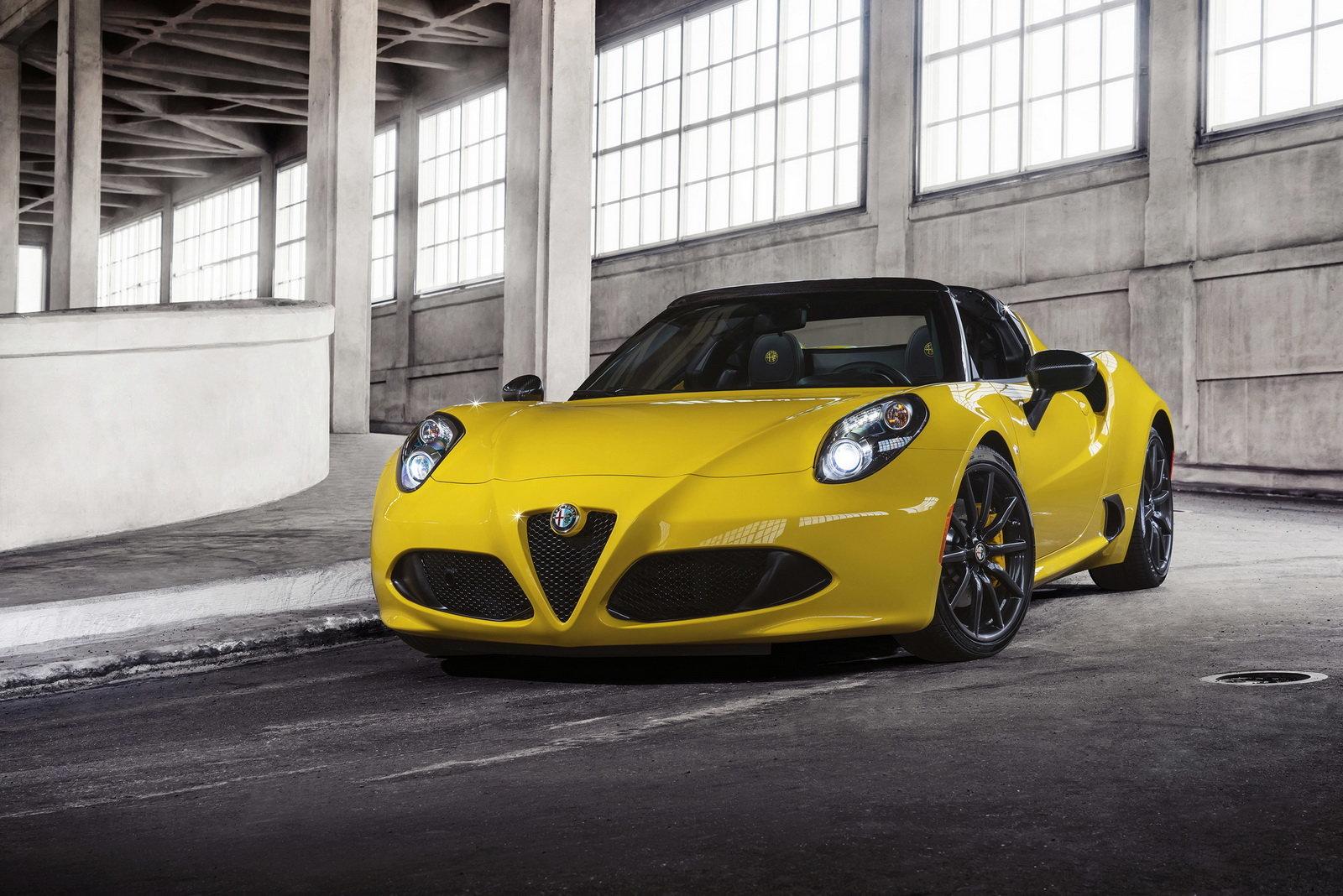 L Alfa Romeo 4c Spider Debutto Negli Usa