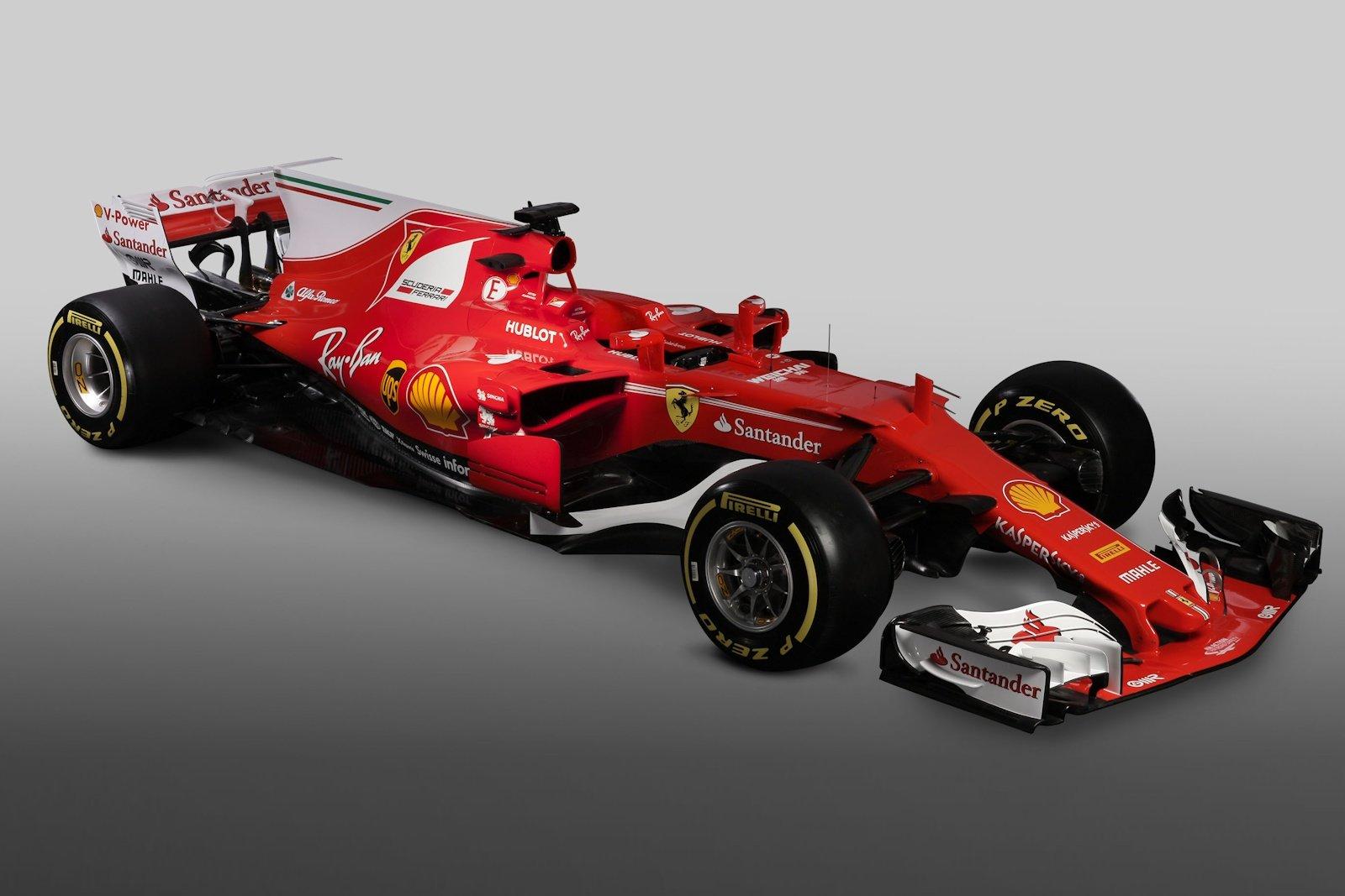 Foto Formula 1 2017 Svelata La Ferrari Sf70h