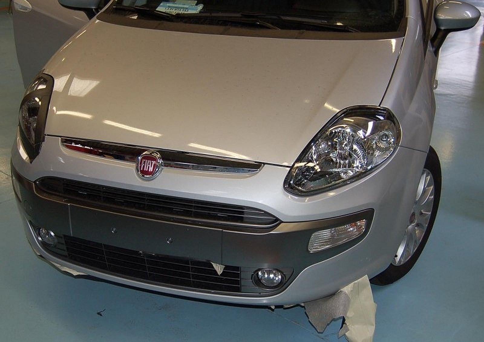 FIAT PUNTO EVO dal 2009 al 2012 Frontale anteriore