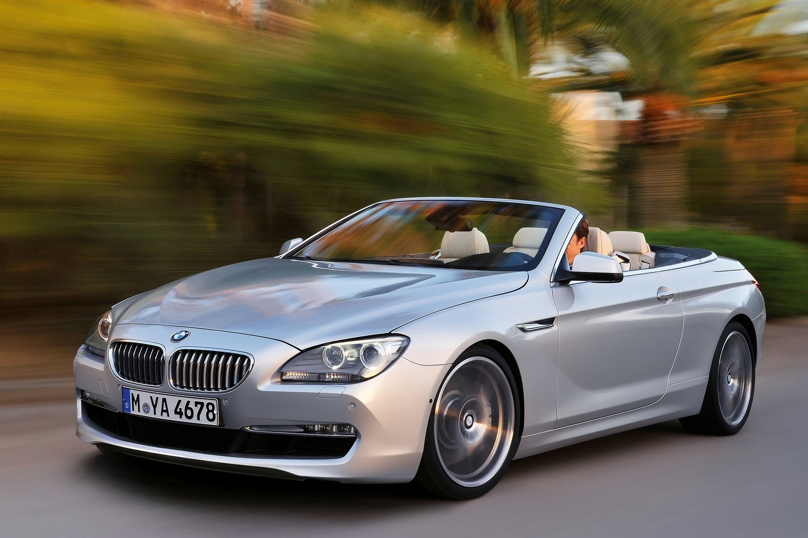 foto bmw serie 6 cabrio arrivano la m6 e la 640d xdrive. Black Bedroom Furniture Sets. Home Design Ideas