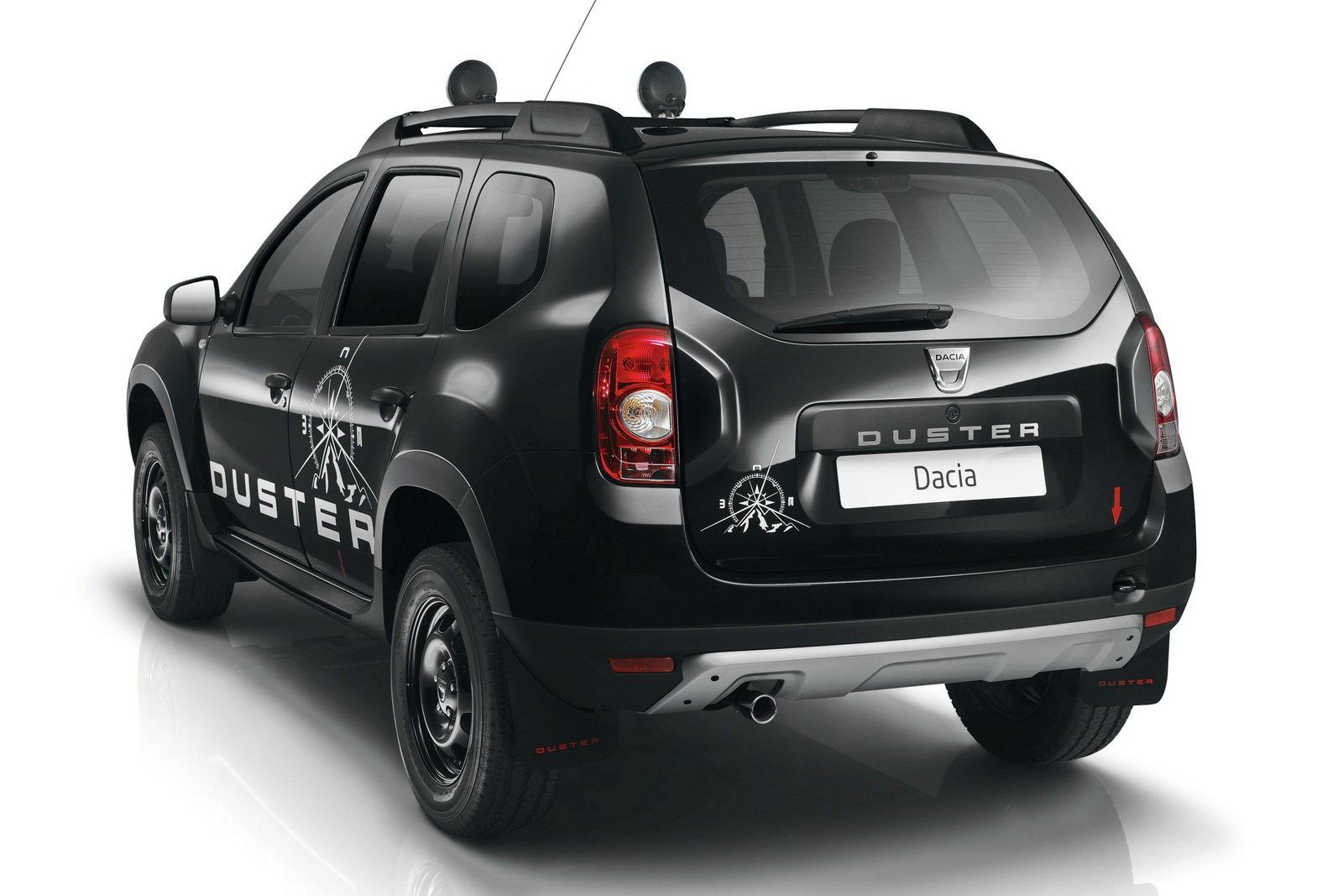 Foto una serie limitata per la dacia duster for Dacia duster foto