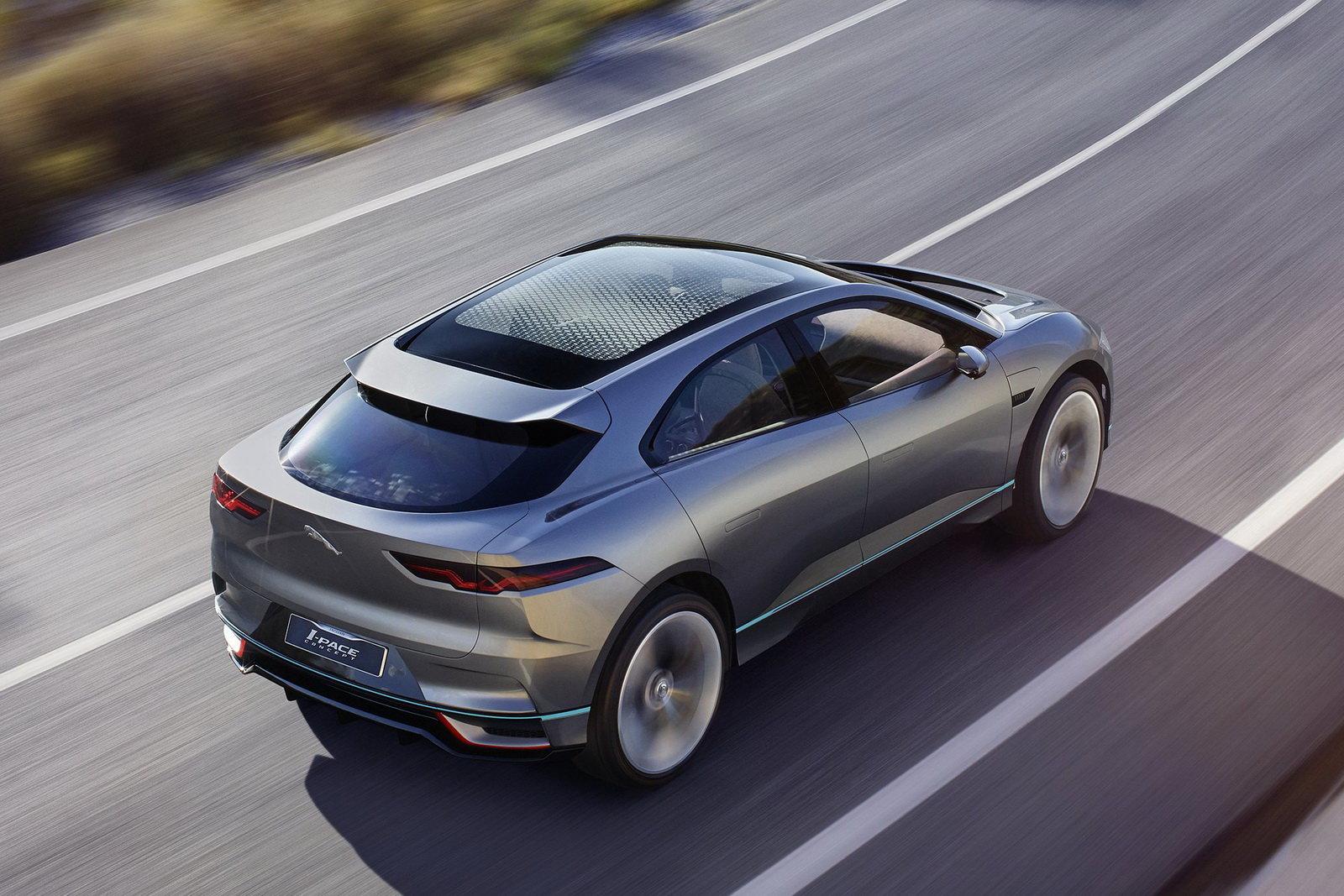 Schema Elettrico Jaguar Type : Foto jaguar i pace prove di crossover elettrico