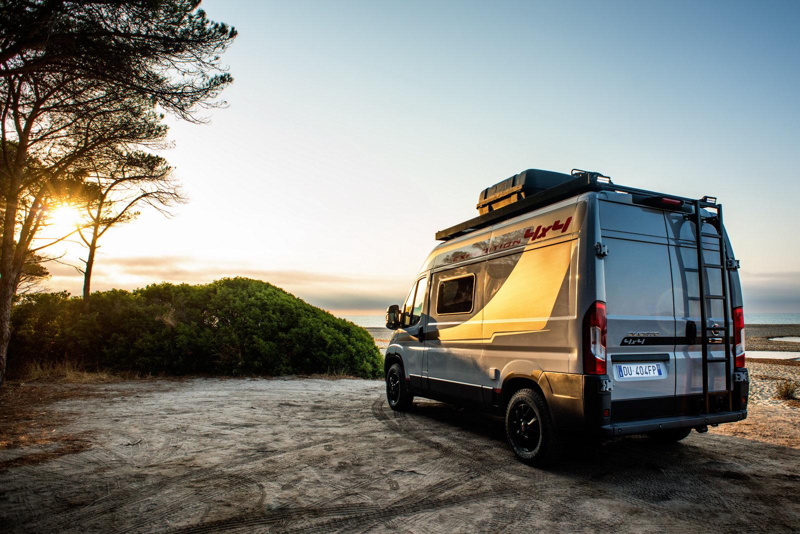 foto fiat ducato 4x4 expedition 2017 il camper che non conosce limiti. Black Bedroom Furniture Sets. Home Design Ideas