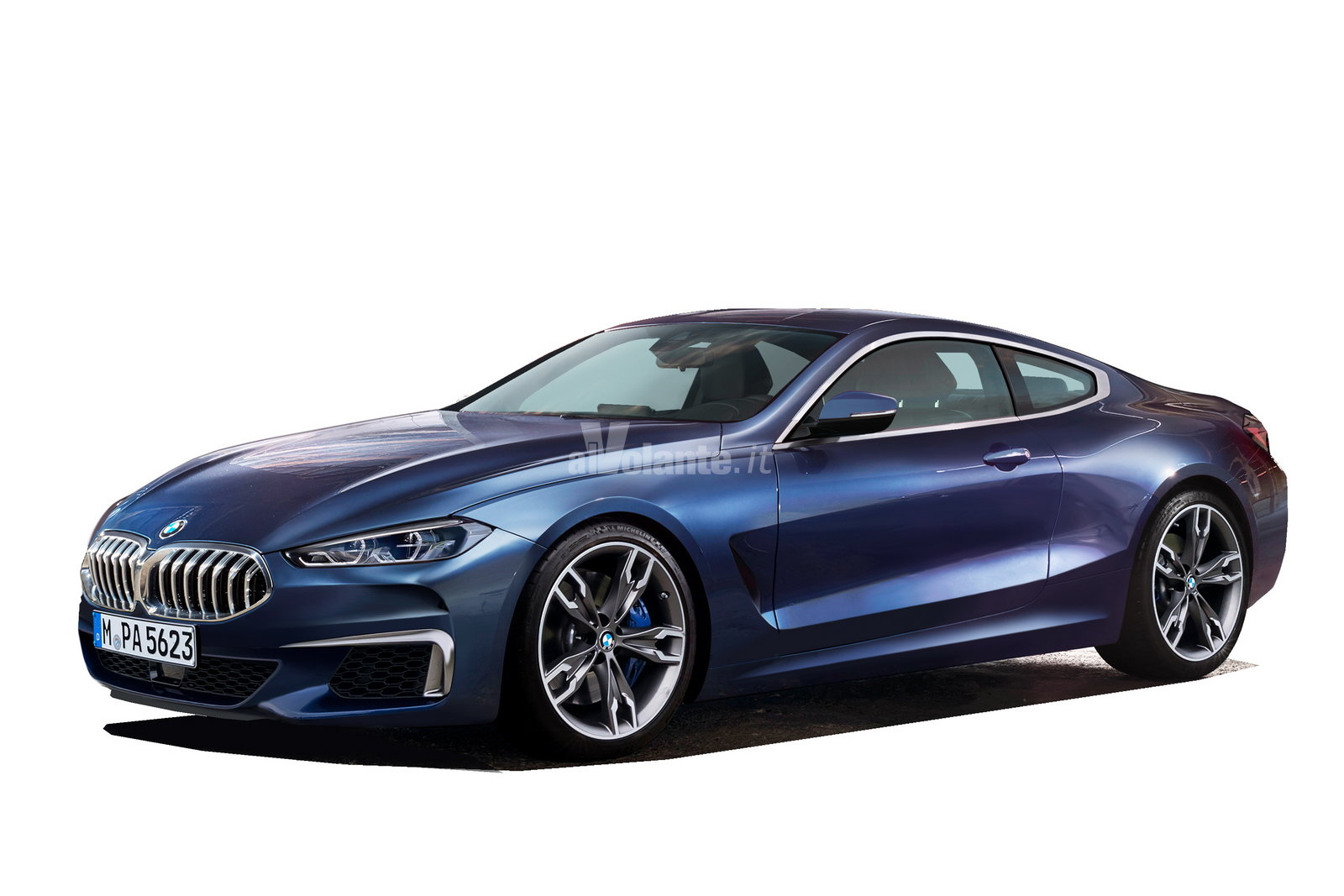 Foto Bmw Serie 8 Lusso In Salsa Coup 233