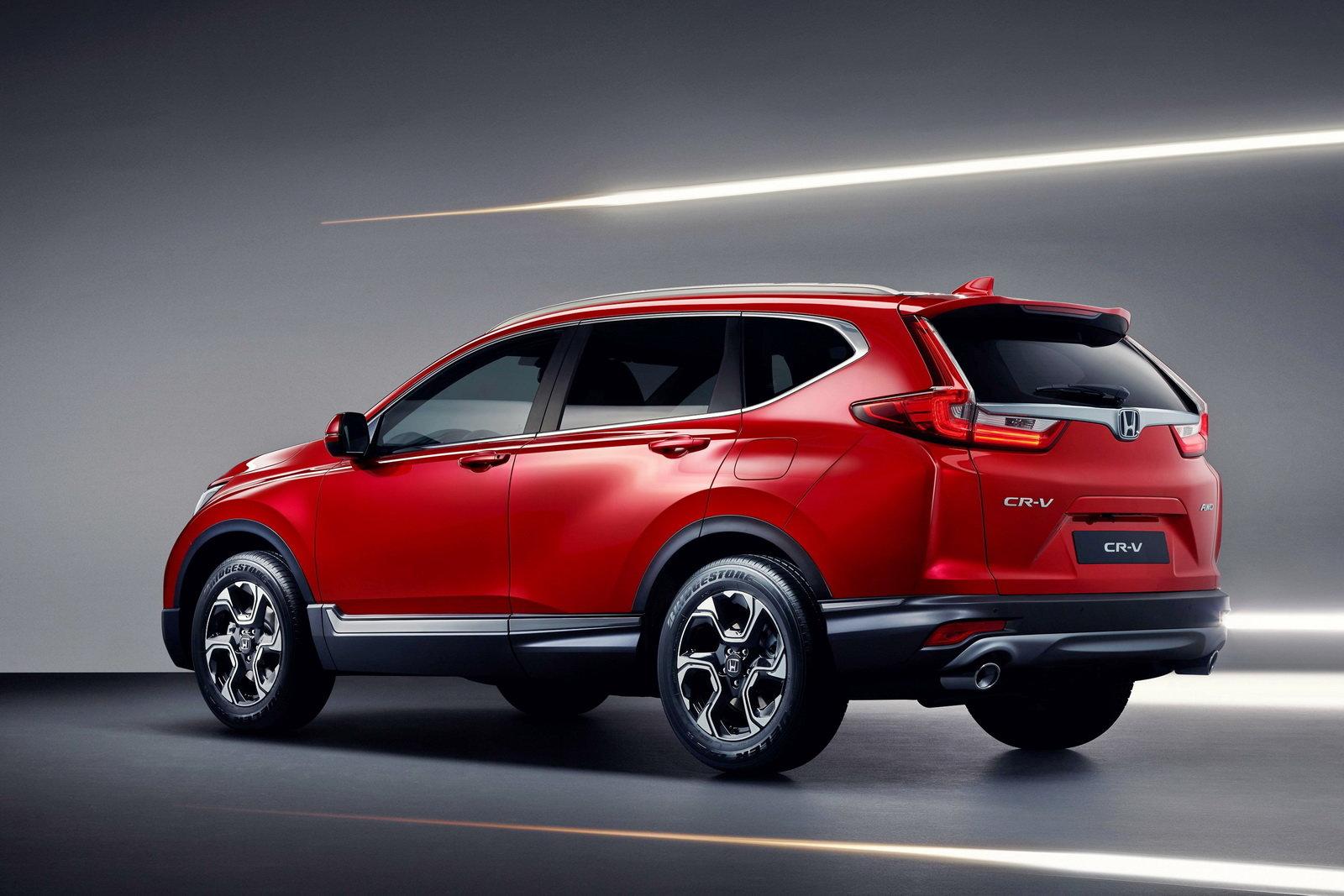Honda CR-V 2018: Parliamo Di Spazio