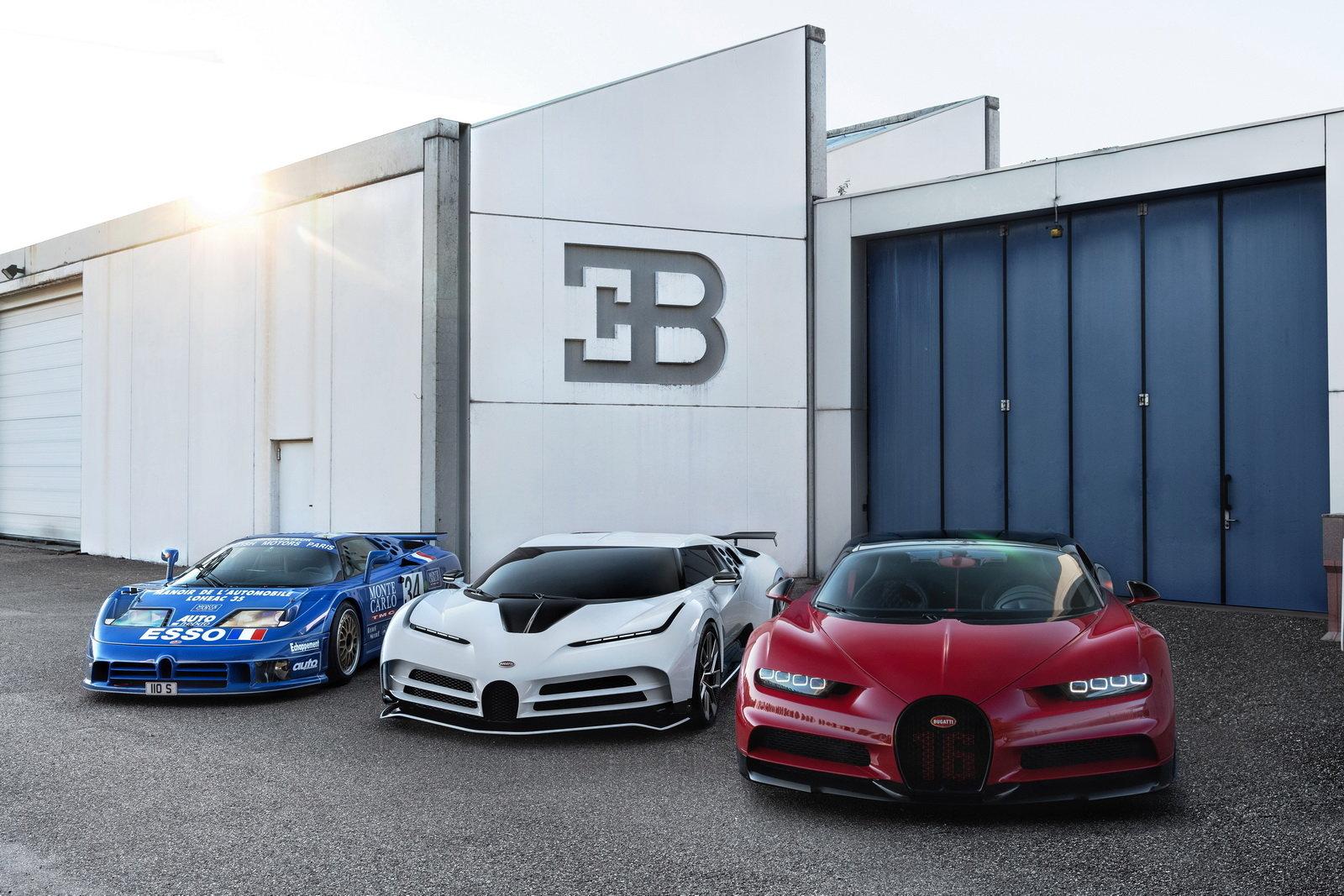 Bugatti Centodieci Per Ricordare La Eb110