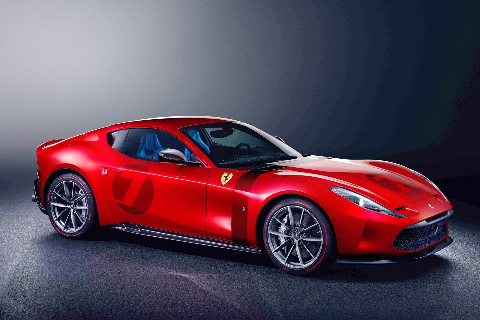 Ferrari Omologata è Unica E Si Ispira Alla 250 Gto