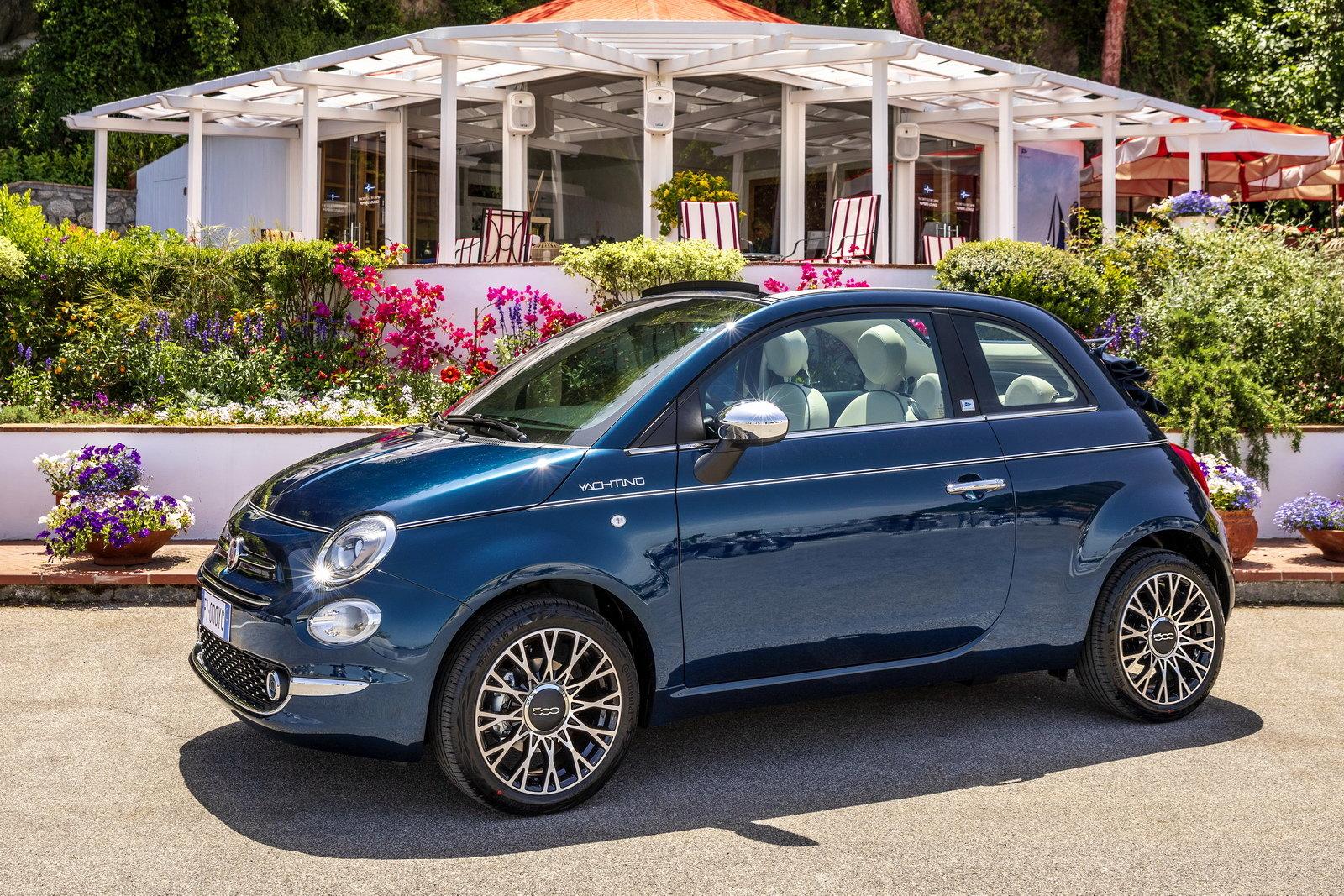 Fiat 500 yacting