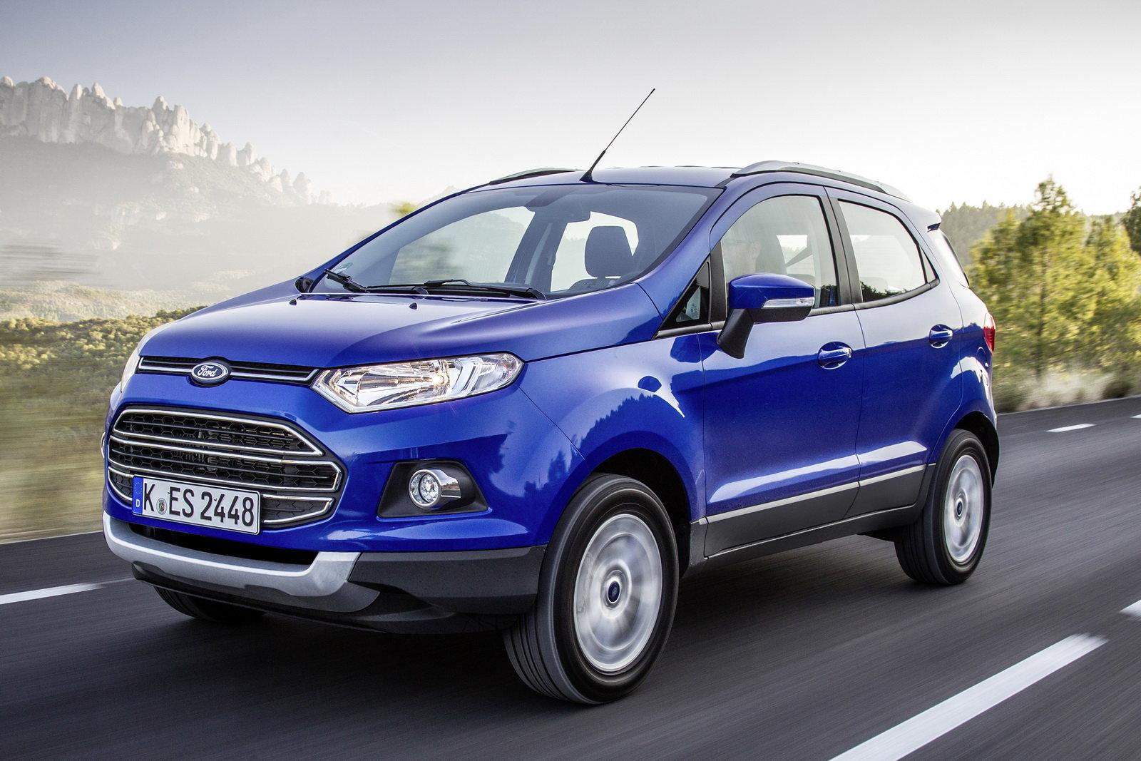 Al Volante Prova Ford Ecosport Sfondo