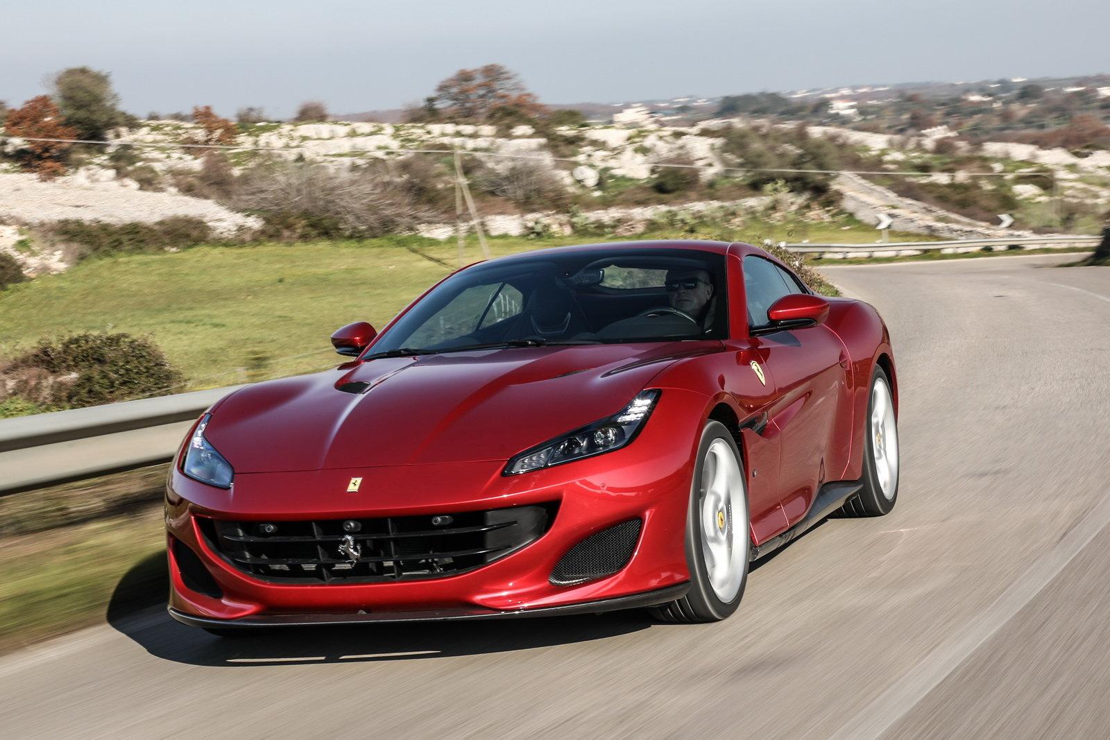 Ferrari Portofino Trazione