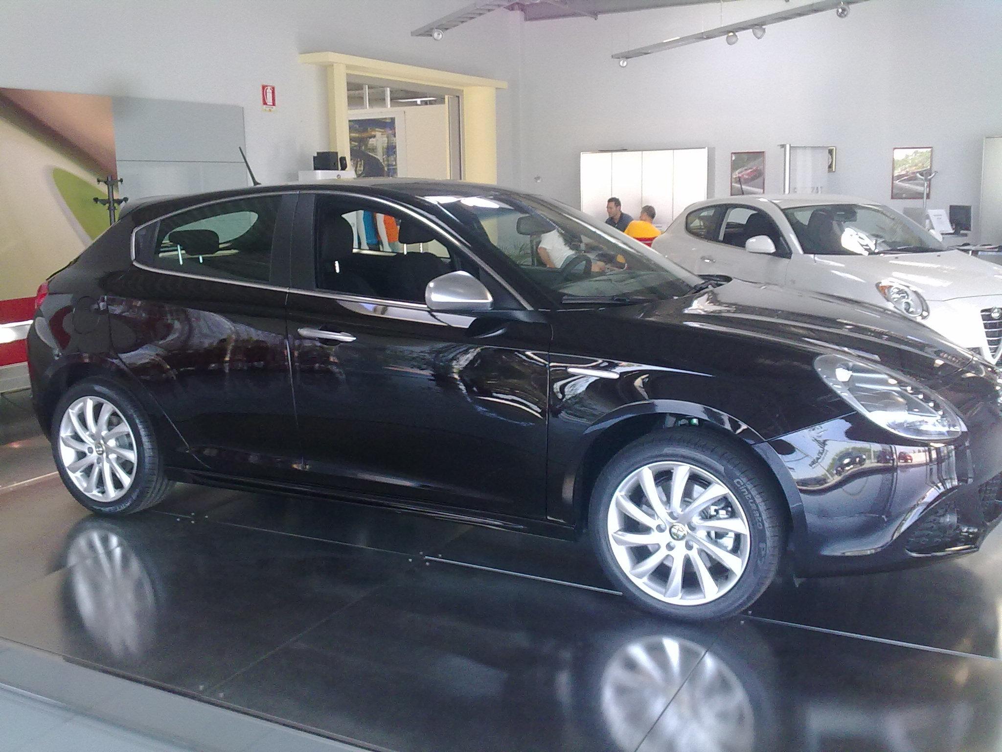 Diffusore Aria Superiore della Plancia Originale Alfa Romeo Giulietta