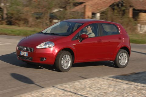Prova Fiat Grande Punto 1.4 Natural Power Actual 5p