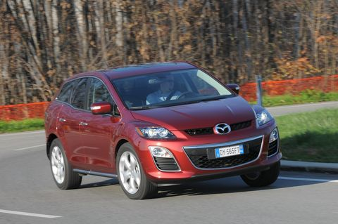 Prova Mazda CX-7 2.2 CD Sport Tourer