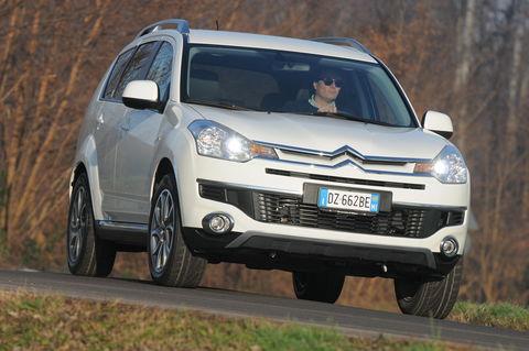 Prova Citroën C-Crosser 2.2 HDi 16V DCS Exclusive