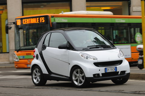 Prova Smart fortwo coupé Cdi Pulse
