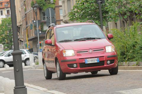 Prova Fiat Panda 1.2 Emotion