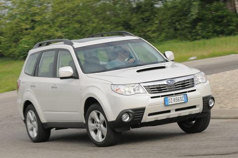 Prova Subaru Forester 2.0D XS Trend