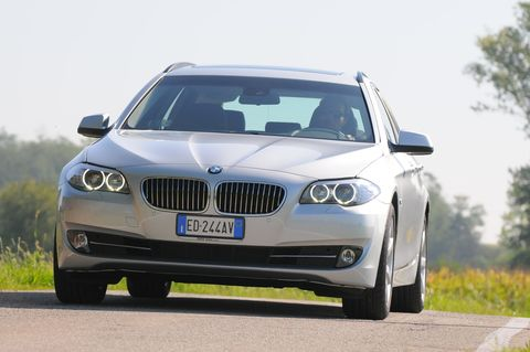 Prova BMW Serie 5 Touring 520d Futura