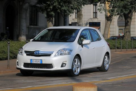 Prova Toyota Auris 1.8 HSD Executive